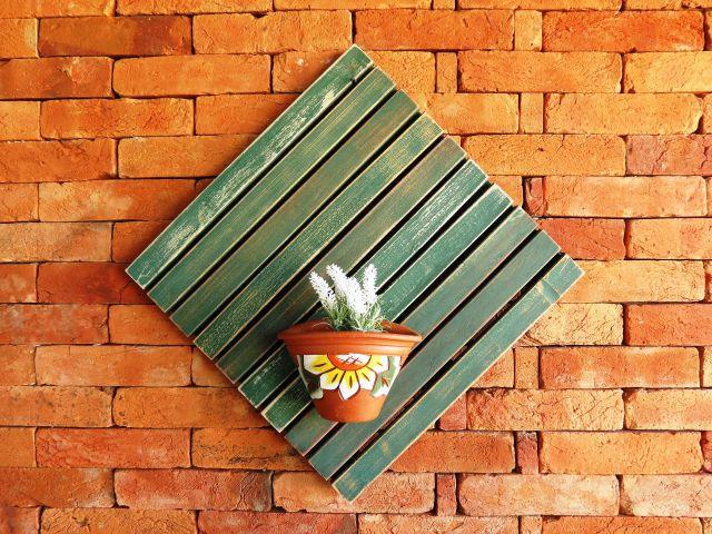 Deck Painel 50x50cm MS Pátina - Verde