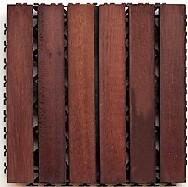 Deck Prático Padrão Imbuia 30cm X 30cm (placa)1