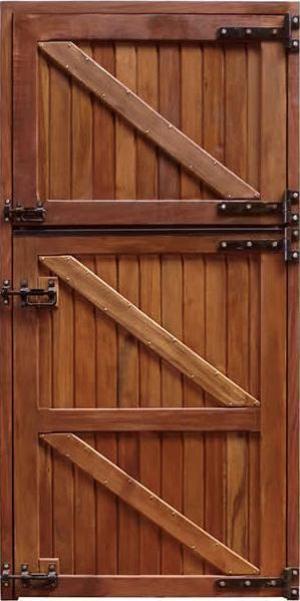 Porta Baia Premium Peroba