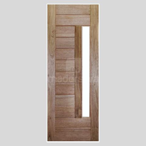 Porta Maciça 2,10m x 82cm Cedro Arana BEL-04