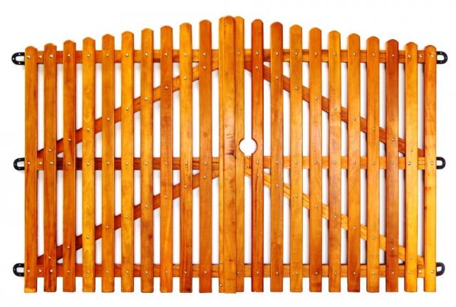 Portão de Madeira - MS 080