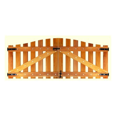 Portão de Madeira - MS 600 a