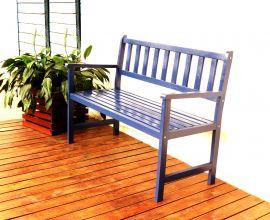 Banco de Jardim Ms Colors - Azul Del Rey