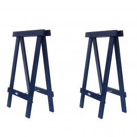 Cavalete Prático Azul Del Rey - Kit 2 peças