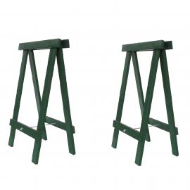 Cavalete Prático Verde - Kit 2 peças