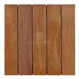 Deck Modular 50x50cm Cumarú Frisado