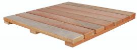 Deck Modular 50x50cm Euca7 Natural