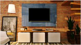 Deck Painel colorido 50x50cm - Azul Del Rey (Placa)