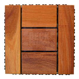 Deck Prático Cumarú Paris 30x30cm (placa)