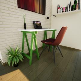 Escrivaninha Prática MDP Verde Folha
