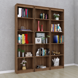 Estante Livreiro Modular Plus Nogal