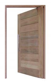 Kit Porta Pivotante Modelo Moderna Frisada - Cedro Arana