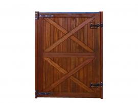 Meia Porta Baia - Padrão Imbuia