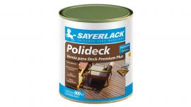 Polideck Transparente 900ml Sayerlack