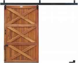 Porta Baia Correr - Peroba