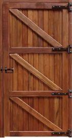 Porta Baia Inteira - Peroba