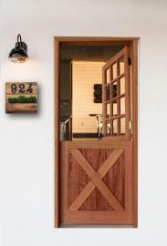 Porta Holandesa 82cm X 2,10m - Cedro Arana