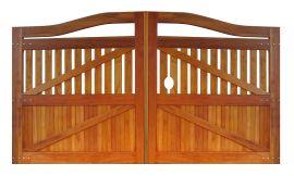 Portão de Madeira - MS 400