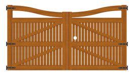 Portão de Madeira - MS 500