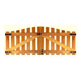 Portão de Madeira - MS 600
