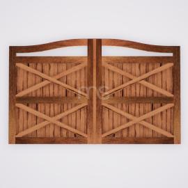 Portão de Madeira - MS 700